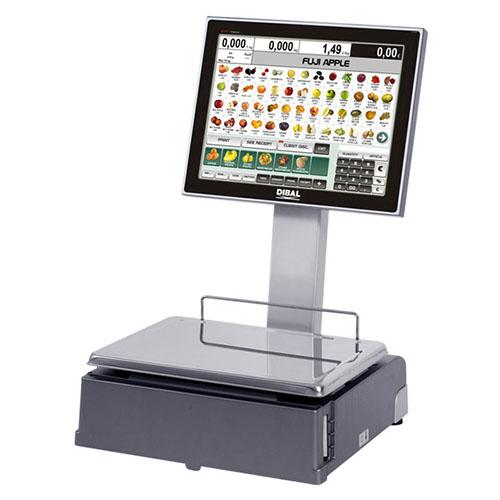 """PC-based весы Dibal СS-1100 W с двумя 15"""" TFT экранами"""