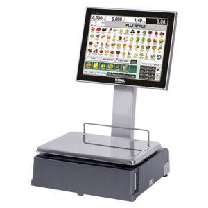 PC-based vahy Dibal CS-1100 W z dvoma 15 TFT ekranamy